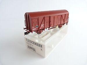 FLEISCHMANN-5319-F-ESSIEUX-WAGON-COUVERT-DE-LA-SNCF