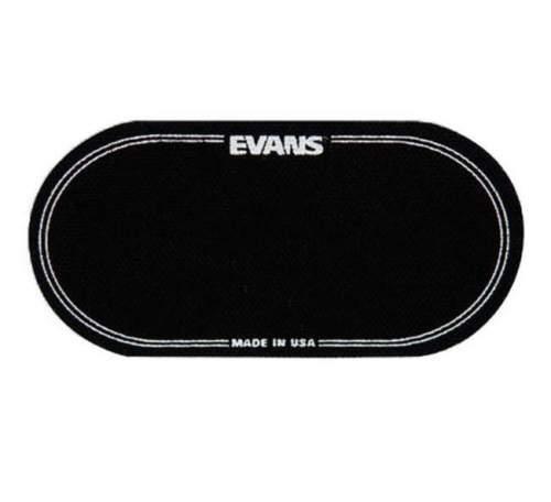 EVANS EQPB2 BLACK NYLON EQ BASS DRUM PATCH Prallplatte