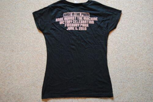 Rage against the MACHINE RAGE 1 cowell 0 2010 femmes skinny t shirt neuf ratm