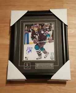 912ea0a0517 Image is loading BLOWOUT-SCOTT-NIEDERMAYER-ANAHEIM-MIGHTY-DUCKS-AUTOGRAPHED -FRAMED-