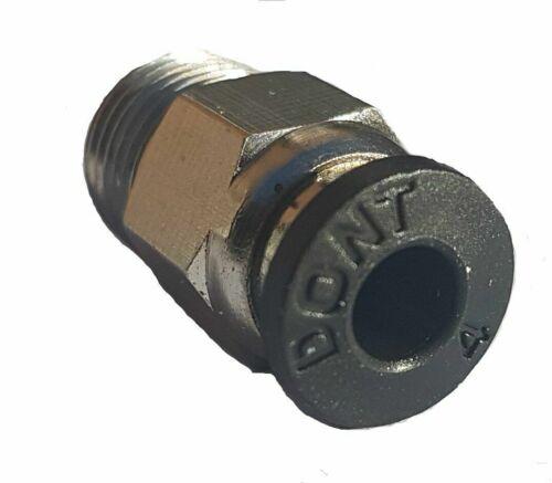 Pc4-M10 Macho Recto Neumático PEFE Tubo empuje para el montaje de E3D-V6 Conector Reino Unido