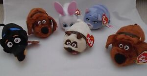 TY TOYS - TEENY TY - SECRET LIFE OF PETS CHARACTERS - NEW 6d83a4fedb3