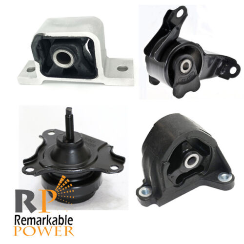 Engine Motor & Transmission Mounts Set Fits 02-06 Acura
