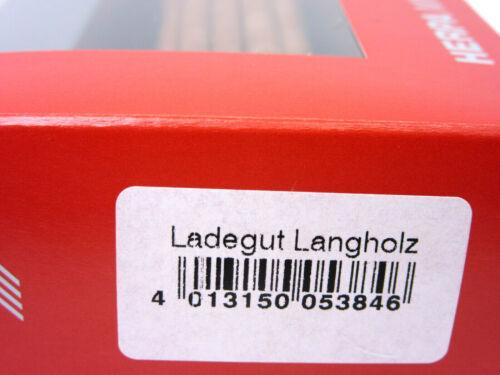 ca HERPA Zubehör 1:87//H0 Ladegut Langholz 18,3cm lang #053846 20 Stück braun