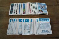 Anglo Walt Disney Characters - 1971 - Near Mint! - Pick The Cards You Need!