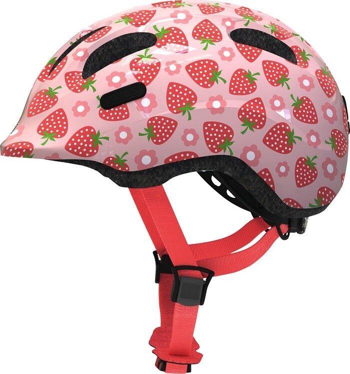Abus - Smiley 2.1  - Farbe  pink strawberry - Größe  M (50 - 55 cm)