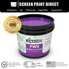 Ecotex Pwr Pre Sensitized Water Resistant Screen Printing Emulsion 1 Gal 128oz