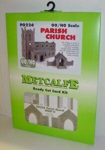 Metcalfe PO226 OO//HO Gauge Parish Church Card Kit