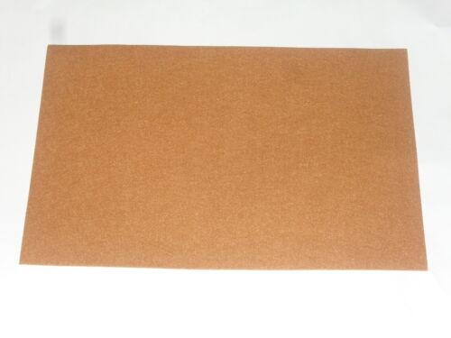 dimension :30x45cm coupon de feutrine 2mm couleur: brun clair 100/%polyester