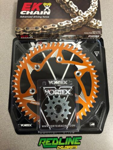 Vortex ktm 250 350 450 sx sxf xcf chain sprocket kit 13//51