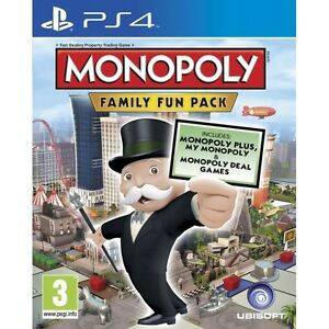 Hasbro-Monopoly-Family-Fun-Pack-PS4-Game-Sony-PlayStation-4-PS4-Brand-New
