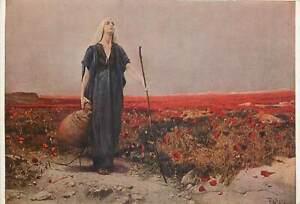 Artist-signed-Painting-Postcard-Ackermans