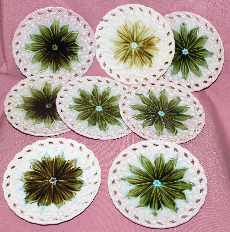 Villeroy BOCH v&b ALT Set 8 lame pasticceria piatti trasla fiori ø17 cm handgem 48286