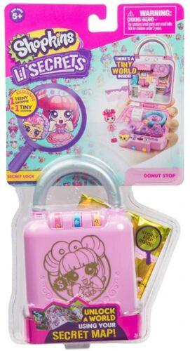 Shopkins Shoppies Lil/' Secrets Secret Lock Donut Shop Mini Playset