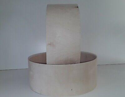 "Raw Drum Shell Handmade Custom Snare 14 /""x 5.5/"" 12 ply 6mm thick A grade BirchPl"