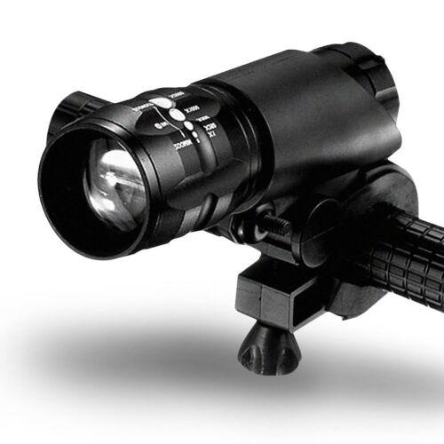 LED Taschenlampe Radsport Fahrrad Front Scheinwerfer Halterung Halter mehrfarbig