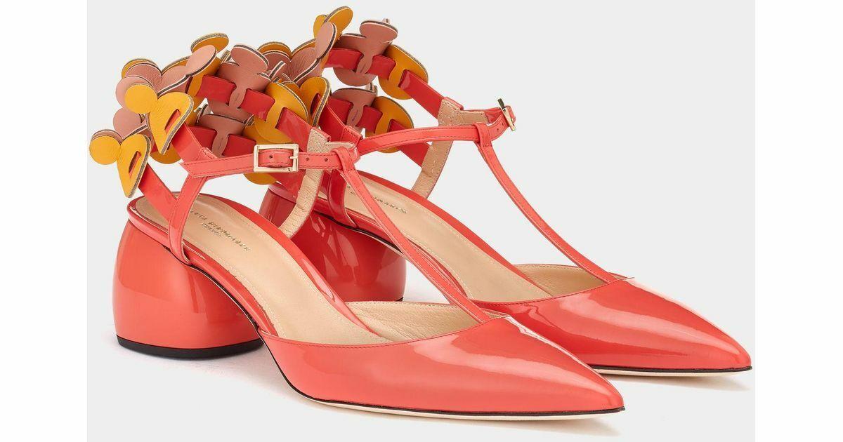 Anya Hindmarsch T -Bar Apex Pumpar Sandaler Mules Flats Flats Flats skor skor Sandaler 36  gratis frakt över hela världen