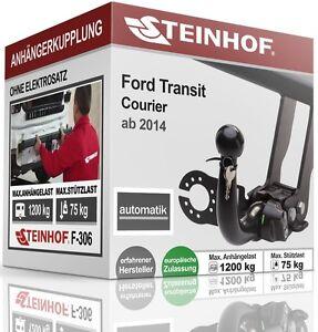 Anhängerkupplung abnehmb Für Ford TOURNEO COURIER ab 2014 STEINHOF ABE