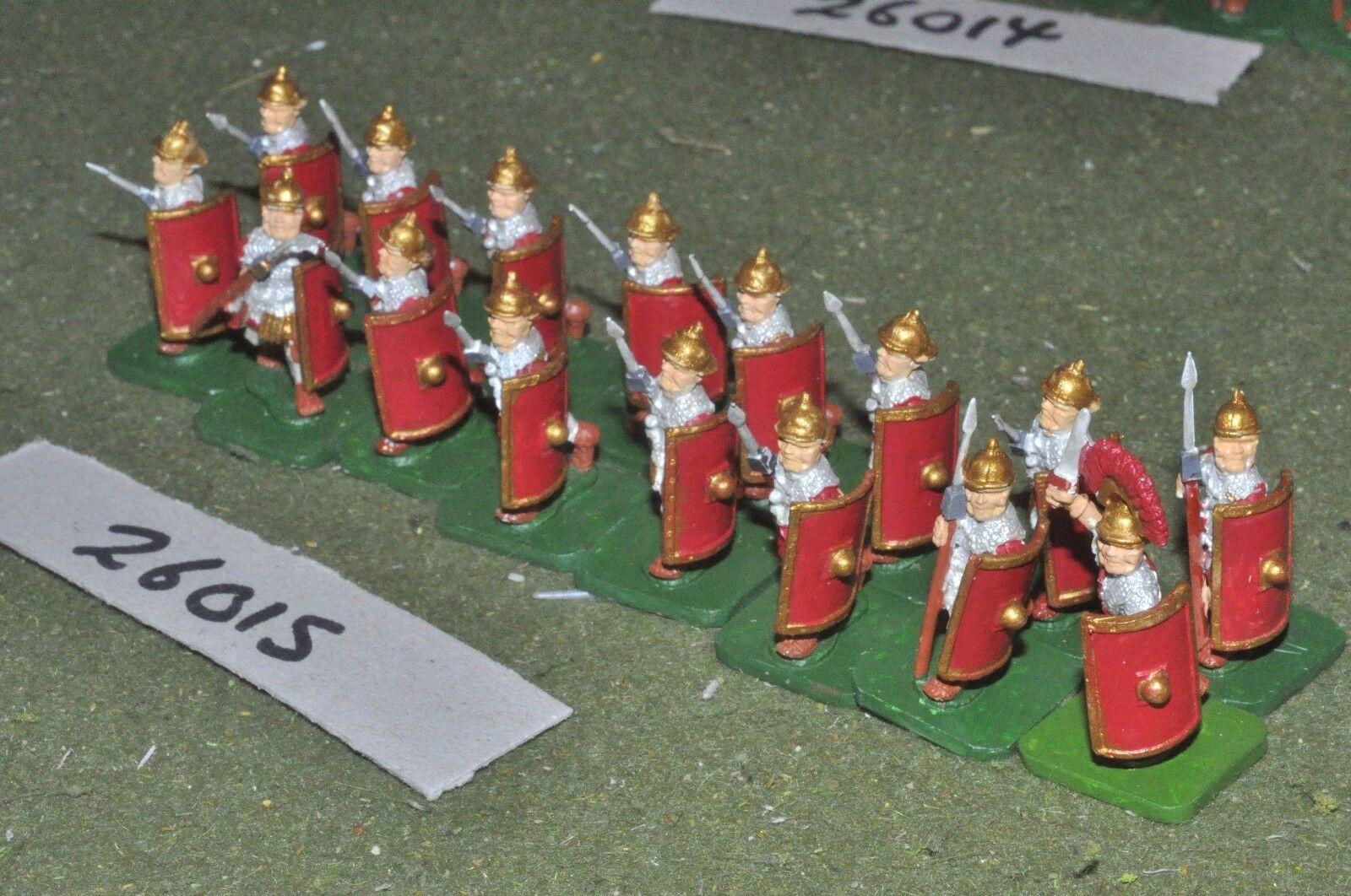 25mm roman era   roman - legionaries 16 figures - inf (26015)