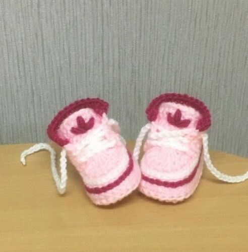 HANDMADE CROCHET BABY SHOES FIRST BOOTIES WOOL SHOES CASUAL NEW BOOTS SLIPPERS
