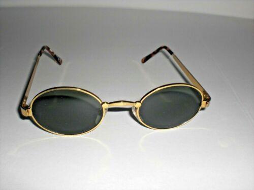 Rahmen Sonnenbrille alle grünes Glas silberfarbiger schwarzer oder goldfarb