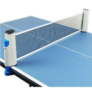 Einziehbares table tennisnetz Grille stable Mesh Portable Table tennisnetz Rack