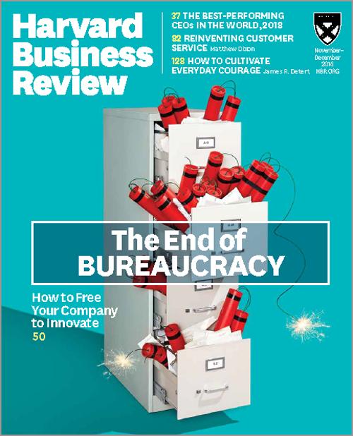 Harvard Business Review November / December 2018 Issue 6 HBR Magazine *Brand New 1