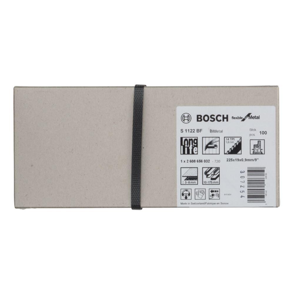 Bosch Lame de scie sabre sabre sabre S 1122 BF, Flexible for Metal af4023