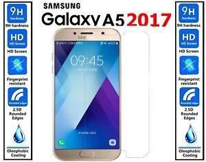 Premium-Gorilla-Verre-Trempe-Protecteur-d-039-ecran-Guard-Pour-Samsung-Galaxy-A5-2017