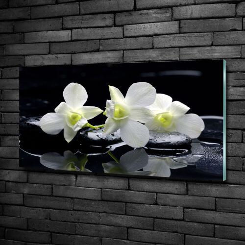 Glas-Bild Wandbilder Druck auf Glas 100x50 Deko Blumen /& Pflanzen Orchidee