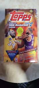2000-01 Topps Basketball Series 2 Factory Sealed Hobby Jumbo Box