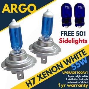 H7-100w-Xenon-Super-White-499-Hid-Headlight-501-T10-Bulbs-Volkswagen-Golf-Mk-4