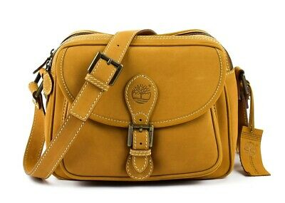 BORSA DONNA TRACOLLA IN PELLE TIMBERLAND NEW RAIN A23XU BEIGE MADE IN ITALY | eBay
