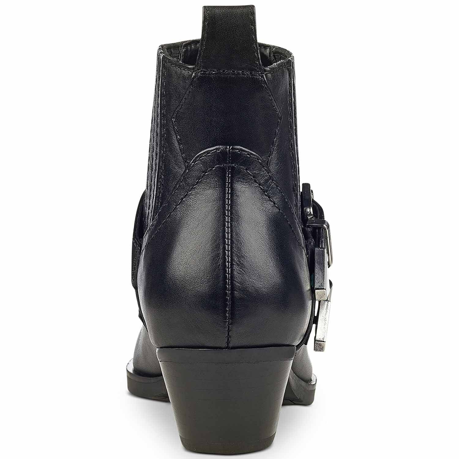 GUESS Women's Violla Western Leather Booties (Black, (Black, (Black, 11 M) 0aa9c4