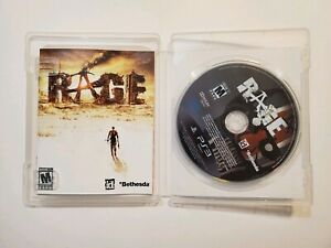 Rage (Sony PlayStation 3, 2011) Complete with Manual