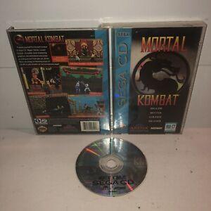 Mortal-Kombat-Sega-CD-Complete-CIB-Iconic-Fighting-Game-w-REG-CARD-TESTED-Fun