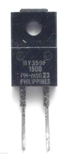 BY359F 1500 ORIGINALE PHILIPS Diodo di commutazione 1500 V 10 A 2-Pin TO-220F//2