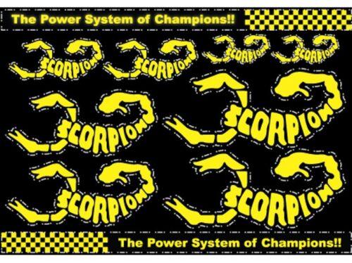 Adesivo Decalcomania Scorpion 001 formato A4