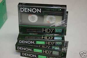 Denon-HD7-100-Cassette-Tape-lot-Made-in-Japan
