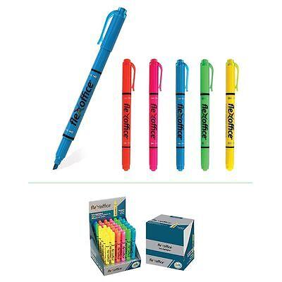 Fluorescent Highlighter Marker Pen Multi Colour Home Office School Set  From 99p