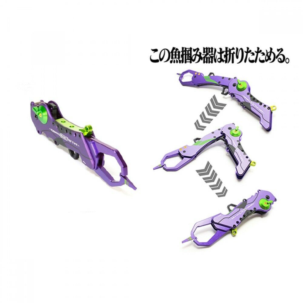 Pre-Order EVA×DRESS Grasper from Fish Grip EVANGELION-01 Model Limited from Grasper Japan F/S b6d6a5