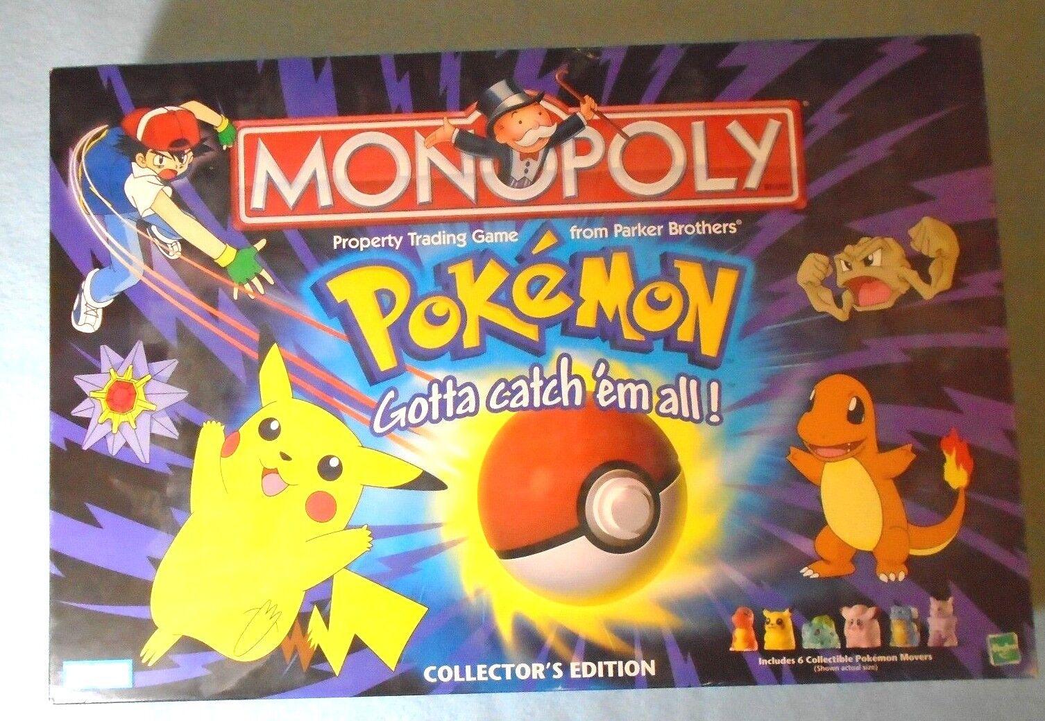 prima qualità ai consumatori Pokemon Collector's edizione    Monopoly  i nuovi marchi outlet online