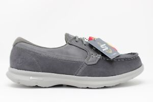 Skechers-Women-039-s-Go-Step-STYLISH-14445-CHAR-Charcoal-Brand-New-In-Box