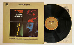Bloomfield-Kooper-amp-Stills-Super-Session-1972-QUAD-NM-Ultrasonic-Clean