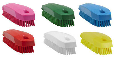 Hard Conscientious Vikan Nail Brush Various Colours High Quality And Low Overhead 130mm