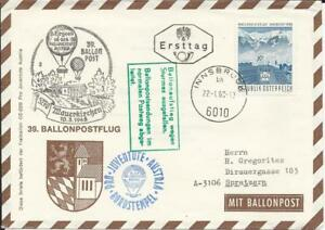 FDC/Ballonpostflug Österr.22.01.1968 - St. Pölten, Österreich - FDC/Ballonpostflug Österr.22.01.1968 - St. Pölten, Österreich