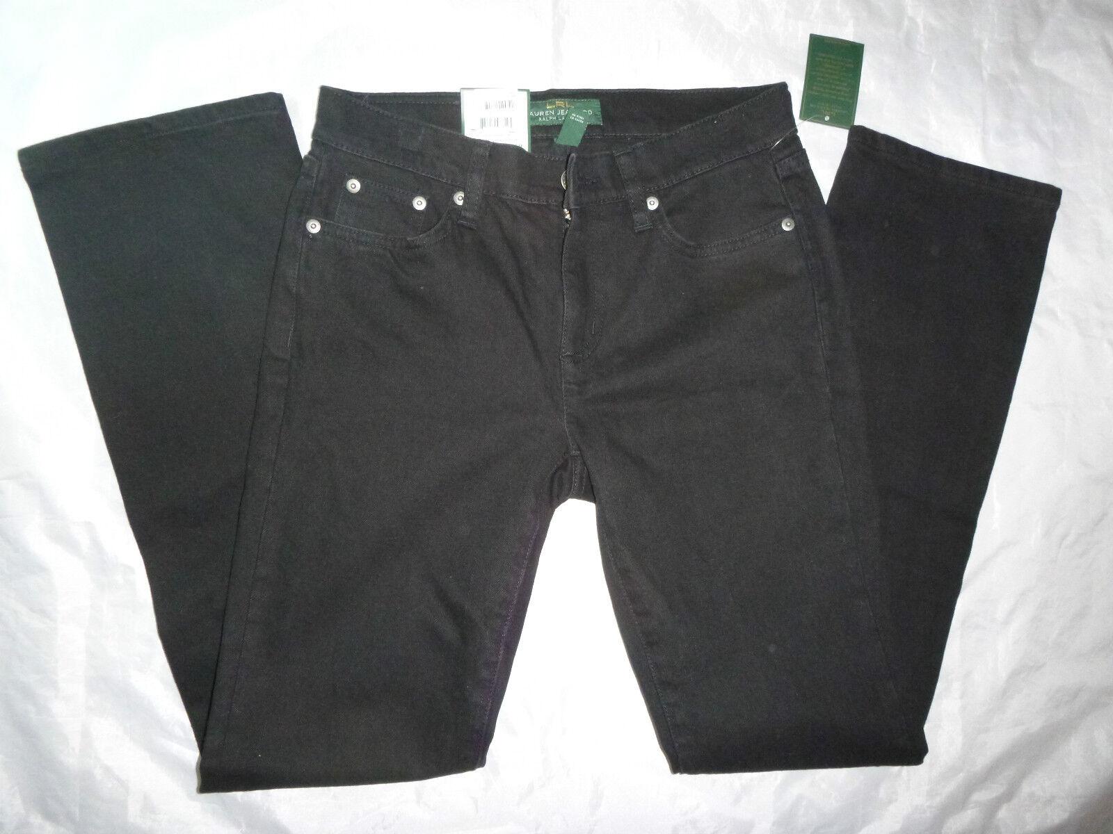 Ralph Lauren Damen Klassisch Gerade Jeans Größe 2 X 31L Neu Nwt
