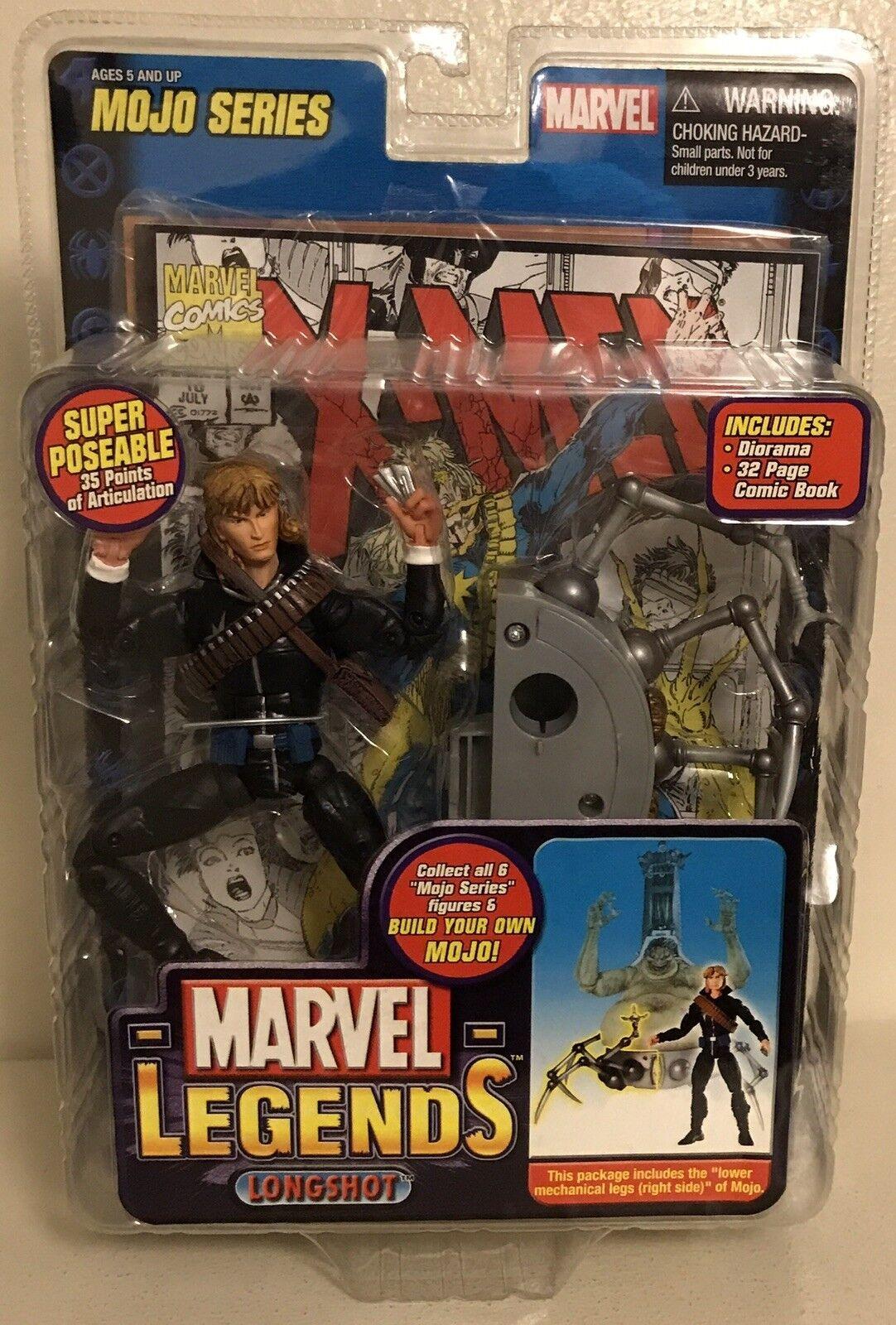 New Marvel Legends Mojo Series Longshot Toy Biz Mechanical Right Side Leg 35pts