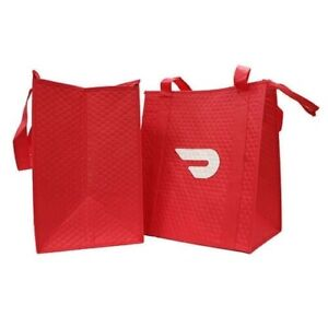 Details about DoorDash Food Delivery Insulated Bag With Zipper NEVER USED