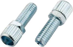 ONE 6MM Brake Cable Barrel Adjuster W// Nut 1